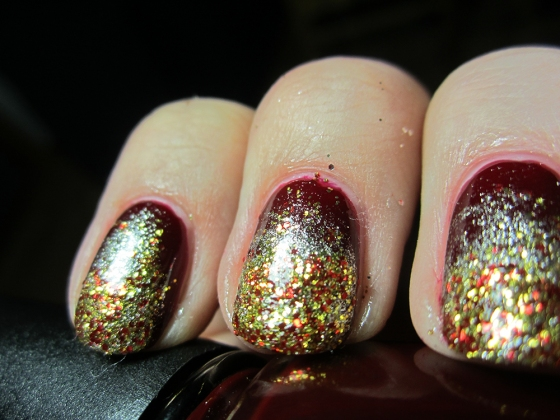 ChinaGlaze_Drastic_and_Revlon_GoldCoin_and_ChinaGlaze_Electrify4