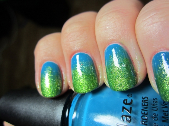 ChinaGlaze_ShowerTogether_and_Love&Beauty_Green2