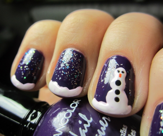 Kleancolor_LoveAffair_and_ChinaGlaze_Snow_and_WetNWild_Hallucinate