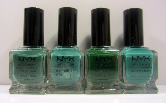 NYX_LuxGreen_Jade_HunterGreen_Teal